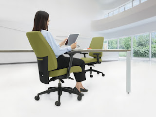 global g1 ergo select task chair in use