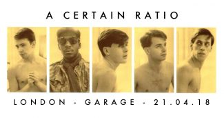 21 April 2018, The Garage, London - ACR Gigography