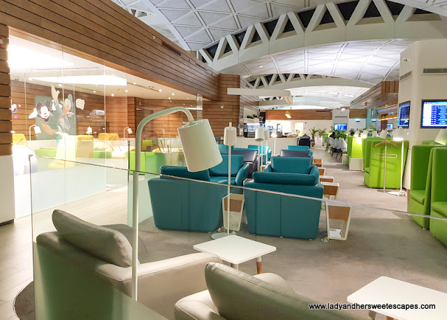 Wellcome Lounge in Riyadh Airport