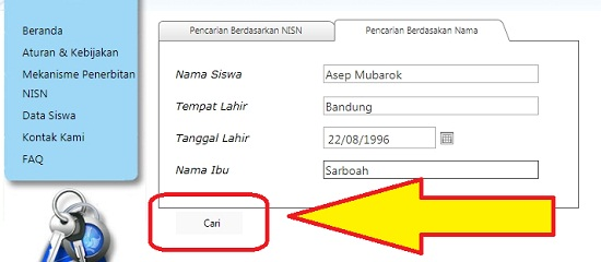 Cara Cek NISN 3