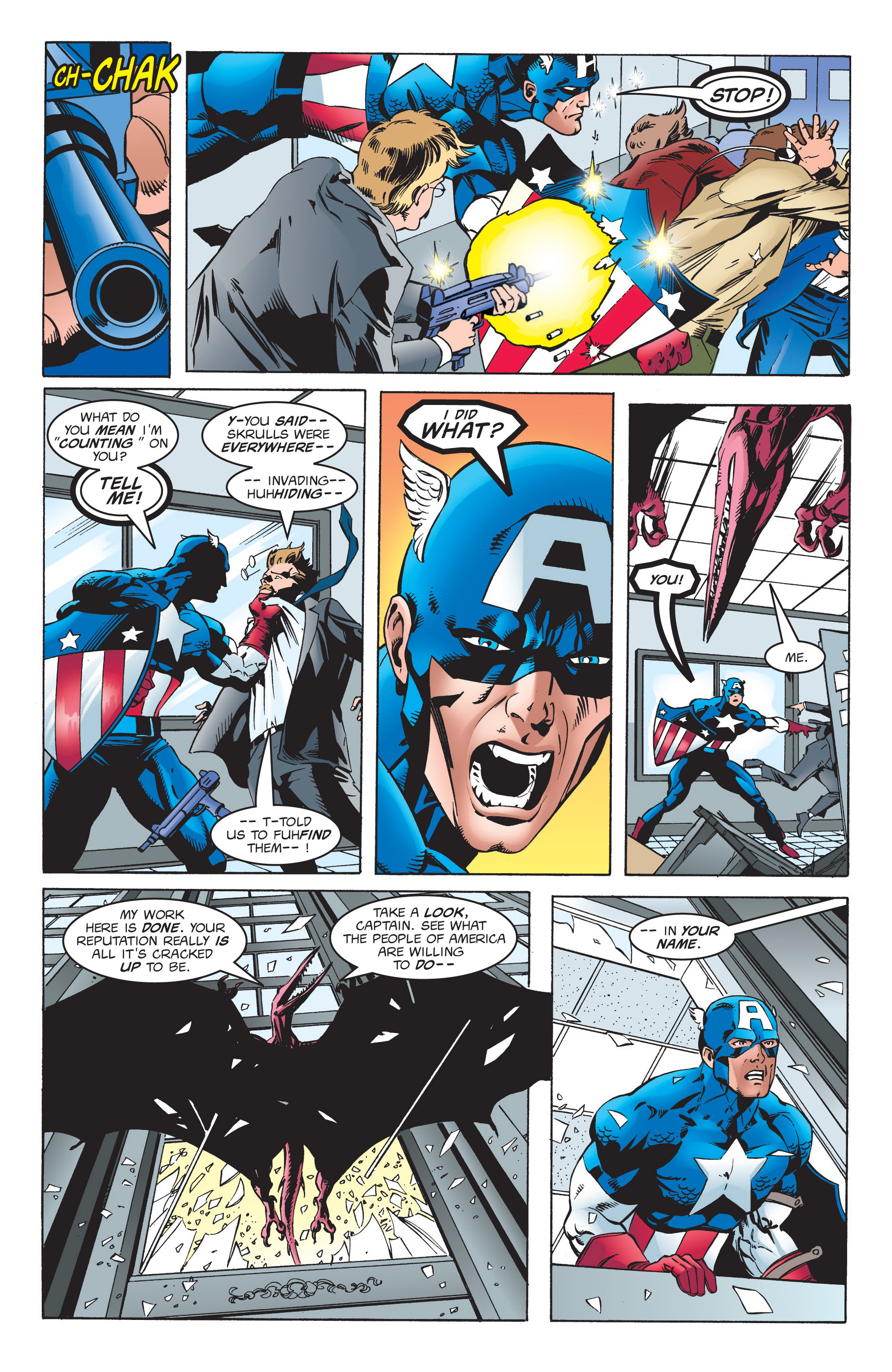 Captain America (1998) Issue #6 #9 - English 22