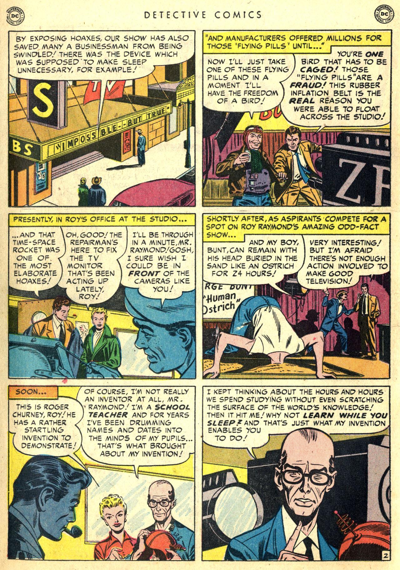 Read online Detective Comics (1937) comic -  Issue #168 - 20