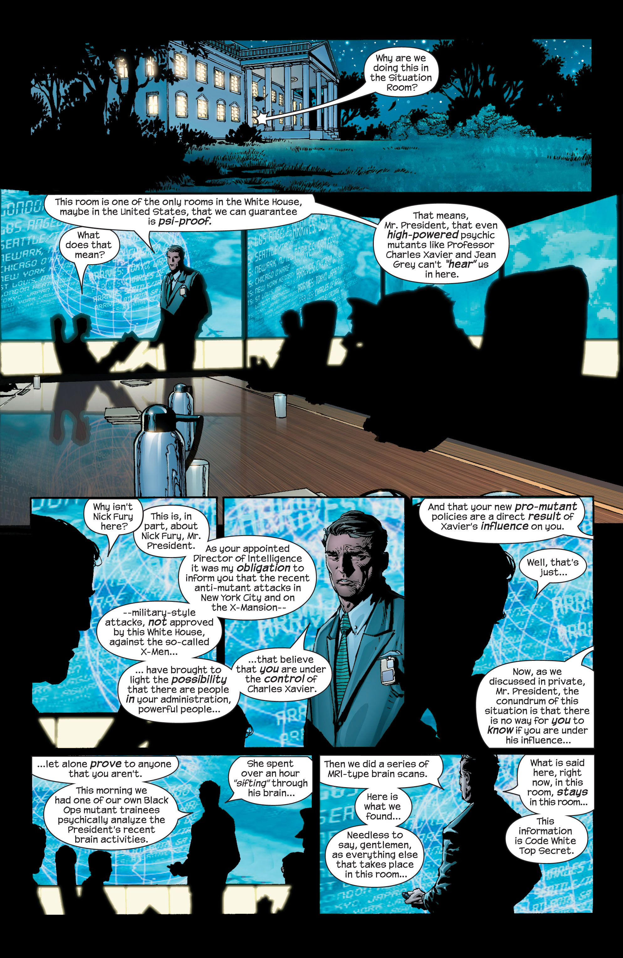 Read online Ultimate X-Men comic -  Issue #42 - 13