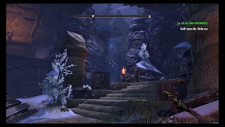 Destroyed hall in Elder Scrolls Online
