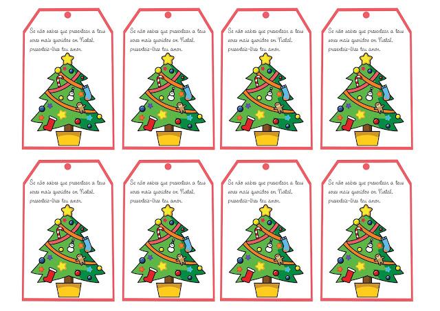 Cartões de Natal para Imprimir com Mensagens.