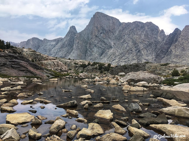 Backpacking to Mt. Hooker & Baptiste Lake, Wind River Range, Musembeah Peak