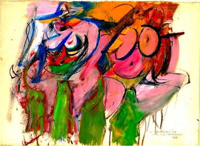 Willem de Kooning - two women (1953)