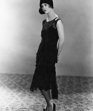 Actress Joan Bennett Wearing A Little Black Dress In 1928 Image Sasha Getty1