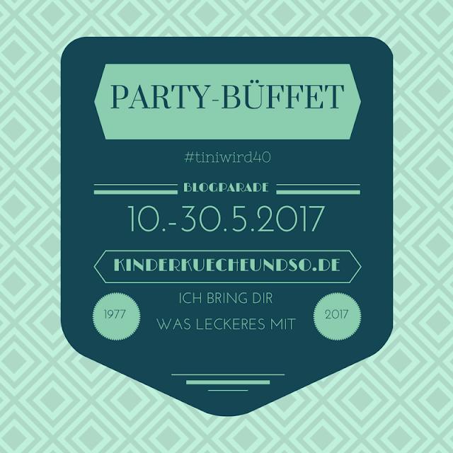 """Blogparade """"Party-Büffet"""" und Gewinnspiel"""