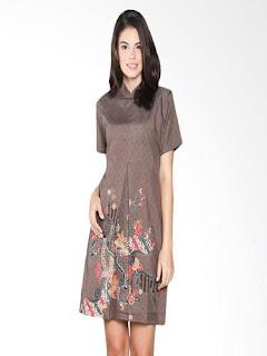 Gaun Batik Modern Artis