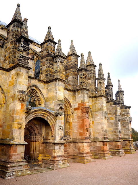 Rosslyn Chapel, Roslin, near Edinburgh, Scotland
