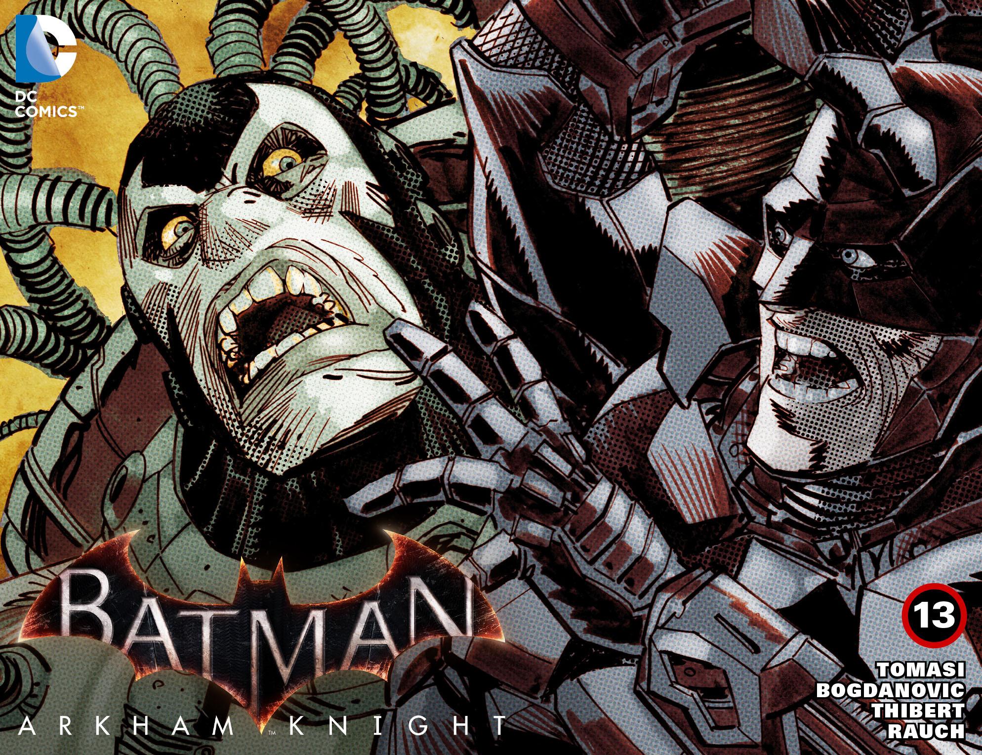 Batman: Arkham Knight [I] 13 Page 1