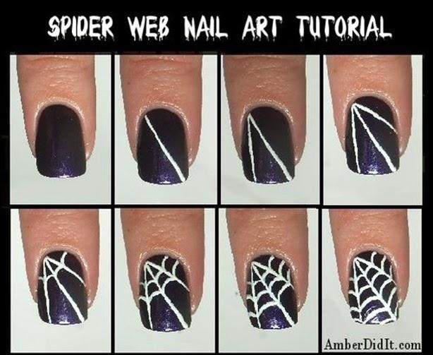 Ideas Fáciles Para Decorar Tus Uñas En Halloween ~ Maquillaje ...