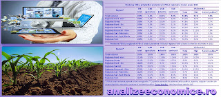În ce regiuni sunt concentrate industria, IT&C-ul și agricultura României