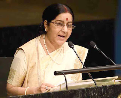 Sushma Swaraj, United Nations, External Affairs Minister Sushma Swaraj, Parliament, United Nations Sanctions Committee