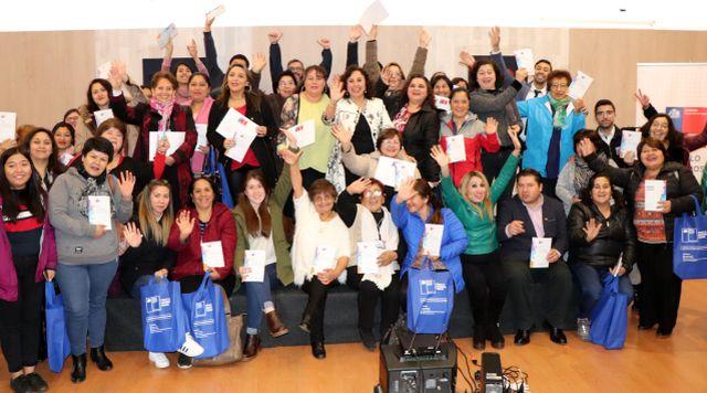 Más de un centenar de mujeres capacitadas en Osorno