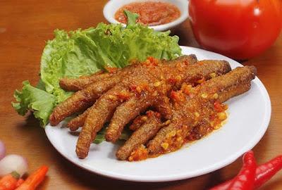 Resep Ceker Ayam Setan Khas Malang (Indonesia)