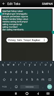 mengubah gambar menjadi teks menggunakan Android