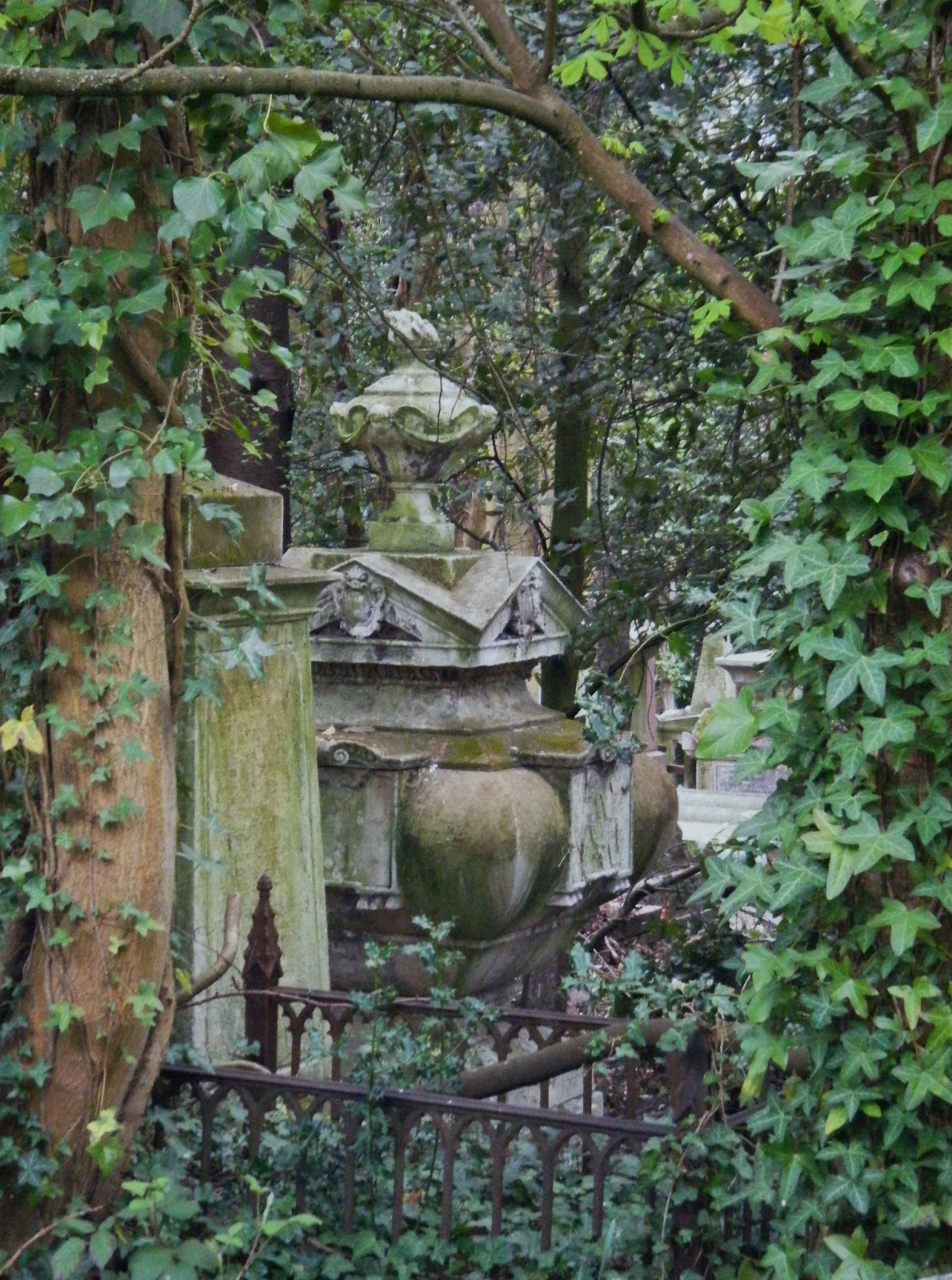 beach combing magpie highgate cemetery a tribute to life death