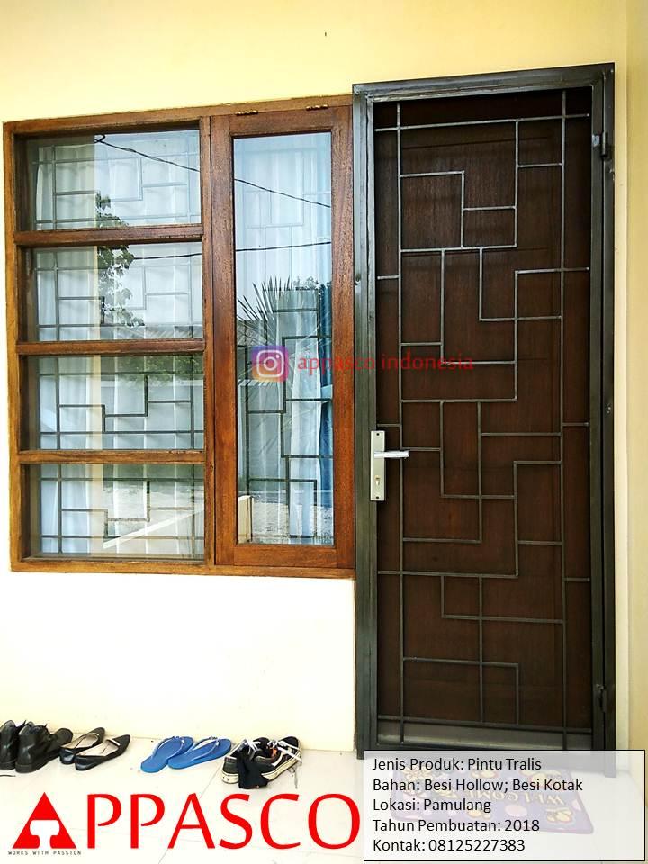 Pintu Teralis Minimalis di Pamulang