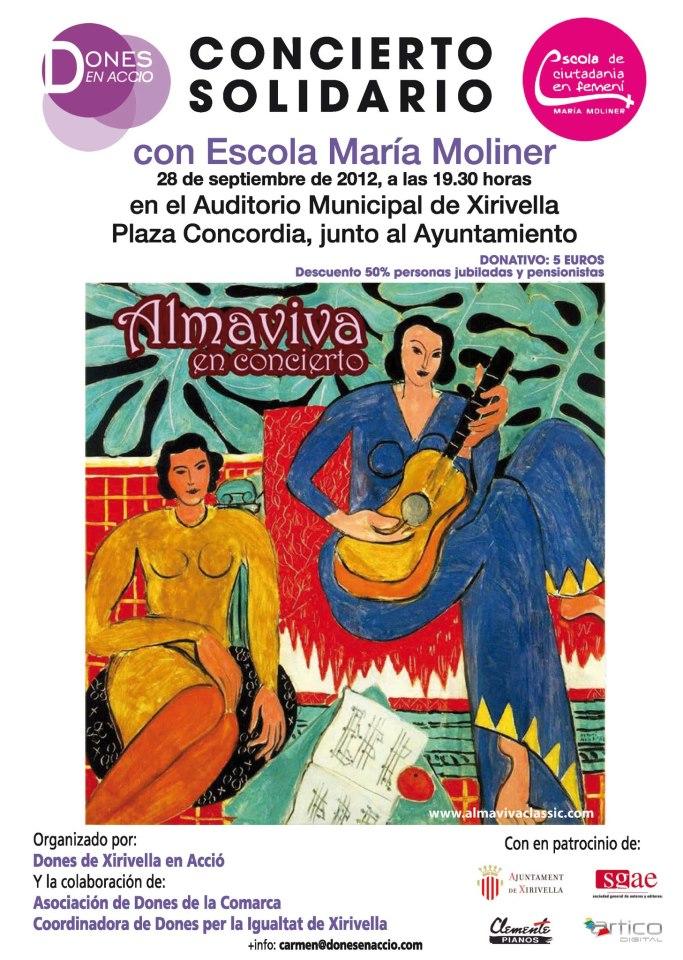 Concierto solidario 28 de Septiembre, Xirivella
