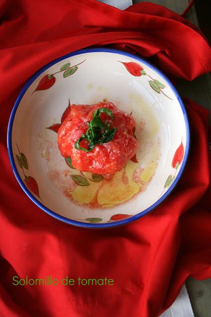 Solomillo de tomate