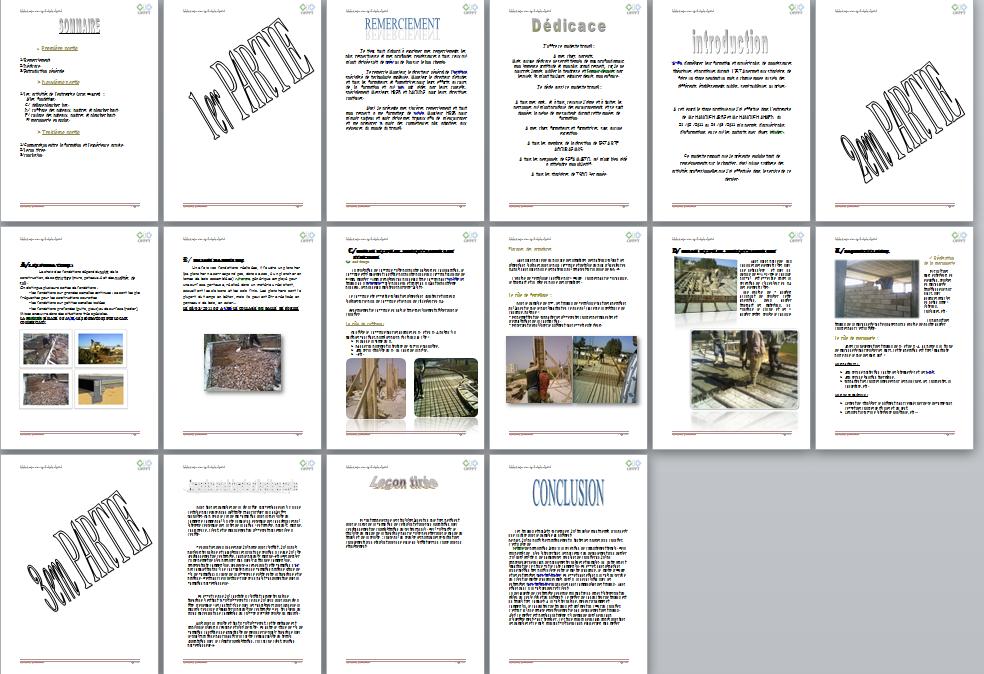 Rapport De Stage Exemple Exemple D Introduction D Un