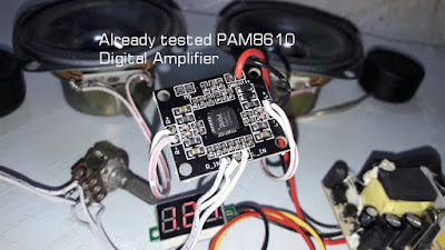 Review and test PAM8610