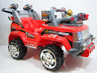 2 Mobil Mainan Aki Pliko PK9300N Fasst Baby Car 2 Dinamo Motor 12 Volt