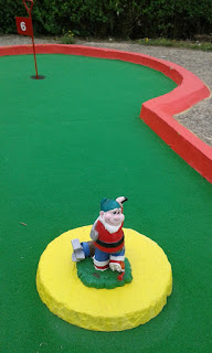 Photo of a Crazy Golf Gnome at Tea Green Golf in Luton