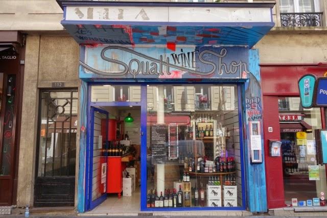 Not Drinking Poison In Paris The Anti Nicolas Squatt Wine Shop 75011