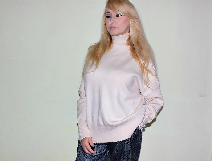 ZAFUL Haul: High Neck Sweater and Tapered Pants. Свитер с высокой горловиной и брюки в клетку / обзор, отзывы, фото