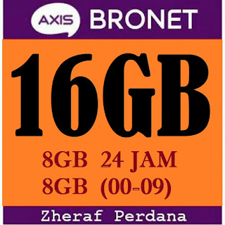 Perdana Internet Axis 16GB
