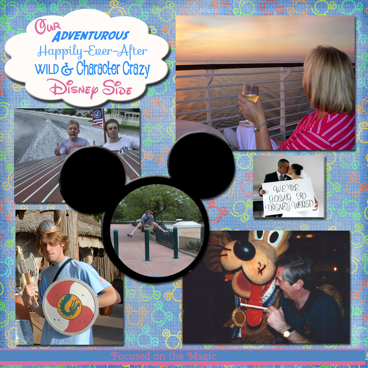 Disney Wordless Wednesday Blog Hop: Our Disney Side