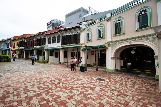 Emerald hill road-Singapore