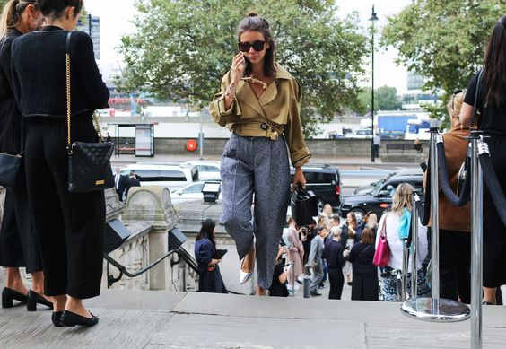 Natasha Goldenberg Vogue LFW Street Style London