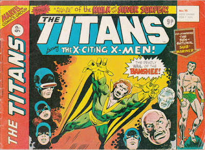 Marvel UK, The Titans #16, Banshee