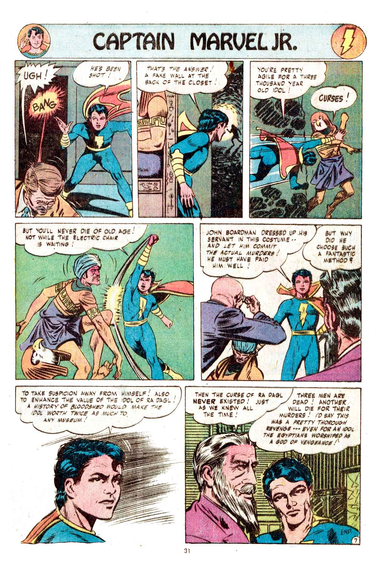 Read online Shazam! (1973) comic -  Issue #17 - 31
