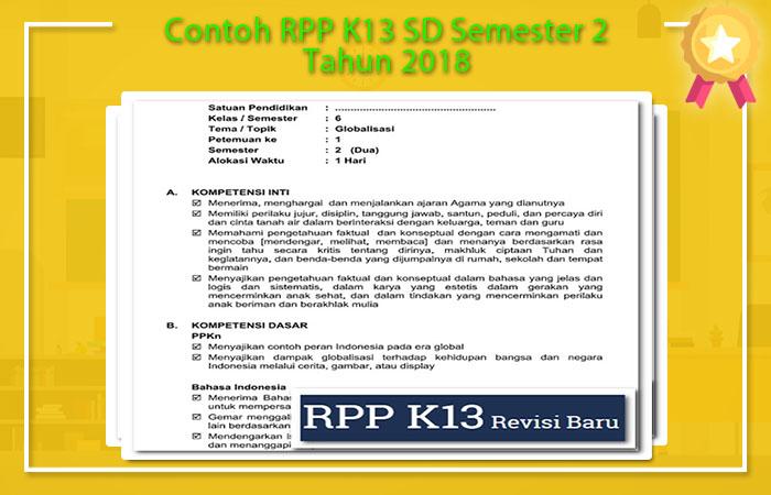 RPP K13 SD Semester 2