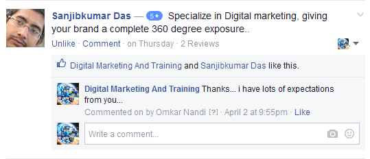 digital marketing and training services