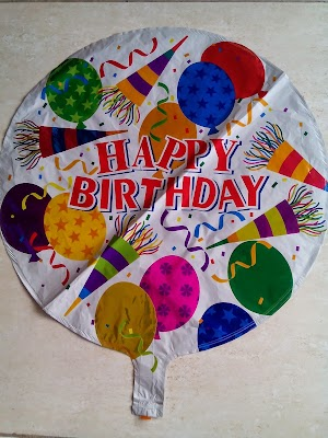 Balon Foil Dekorasi Happy Birthday (FD HB03)