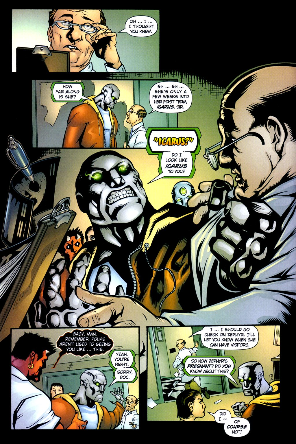 Read online Noble Causes (2002) comic -  Issue #3 - 12