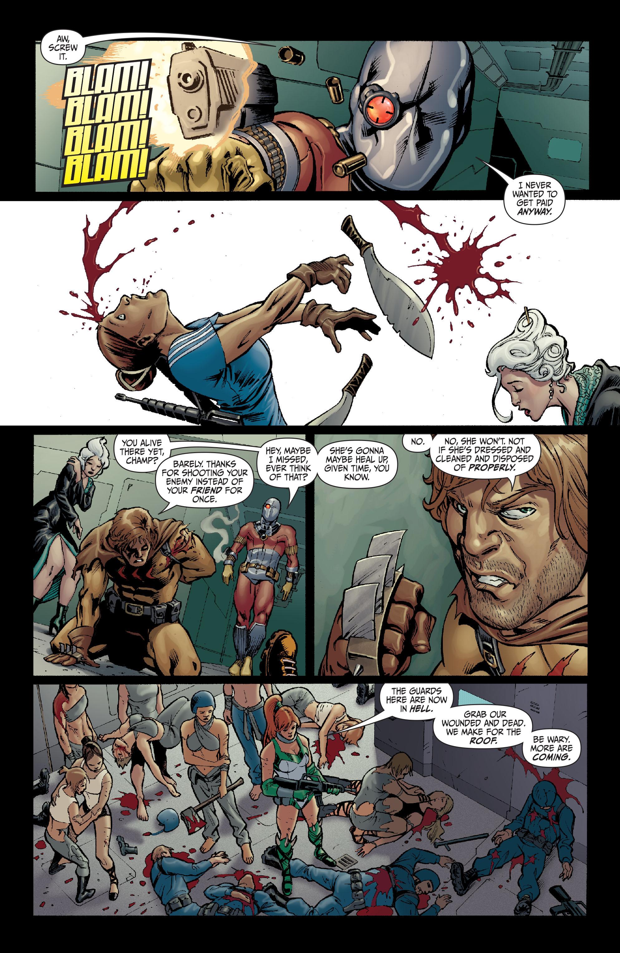 Read online Secret Six (2008) comic -  Issue #14 - 15
