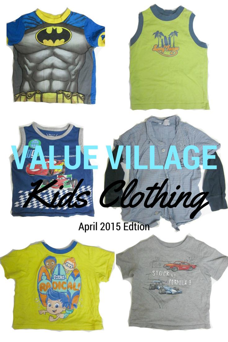 value village clothing