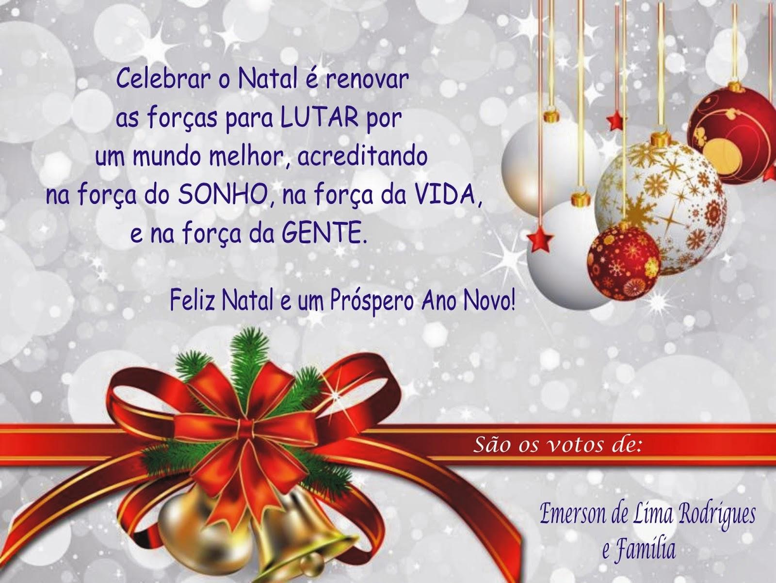 Mensagem De Natal Para Família: .: Mensagens De Natal... 2014