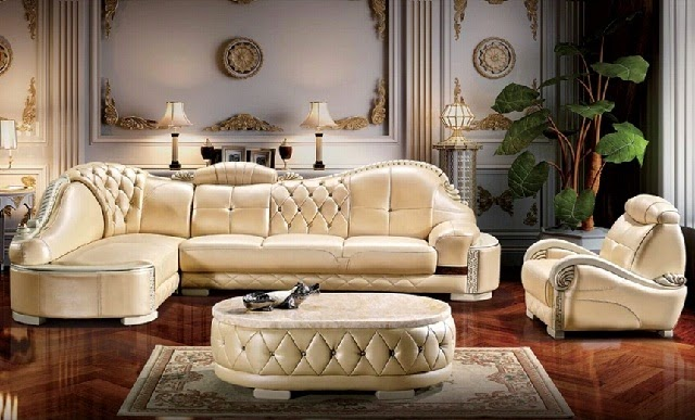 Luxury Italian Sofa decoration
