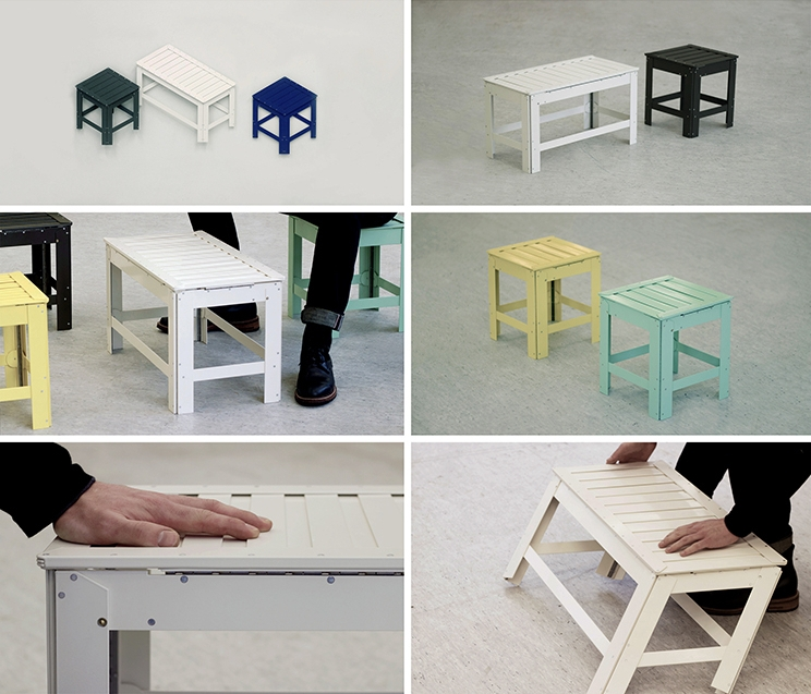 03-Jongha-Choi-Flat-Pack-Furniture-the-2D-Stool-that-Becomes-3D