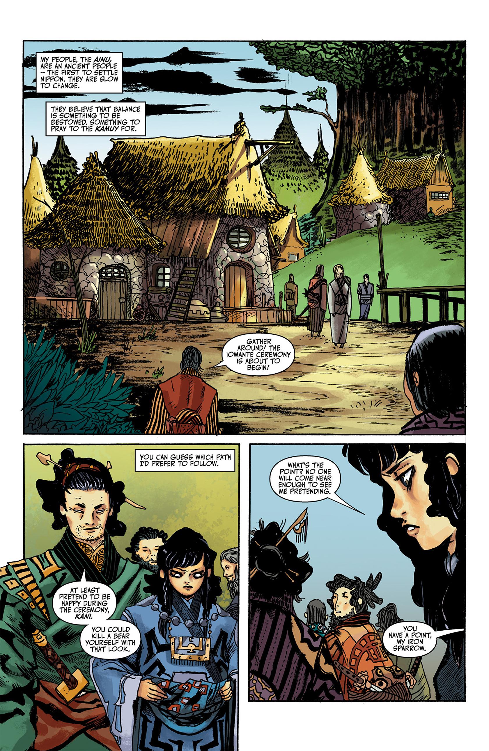 Read online Akaneiro comic -  Issue #1 - 4