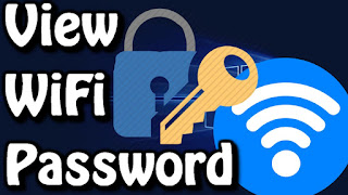 How to find wifi password