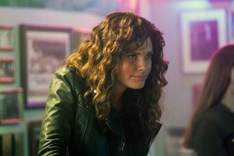 Angelica Celaya as Zed Martin in NBC Constantine Season 1 Episode 2 The Darkness Beneath